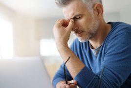 Chronische voorhoofdholte ontsteking